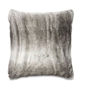 Dartmoor Grey Faux Fur Cushion