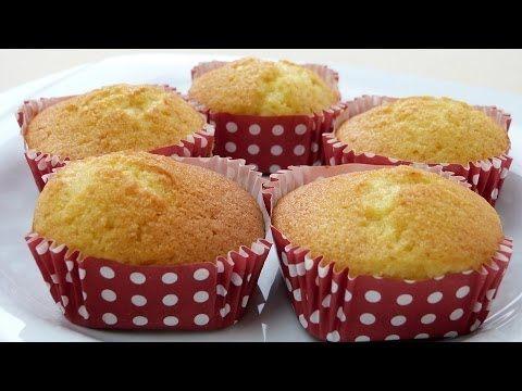 Muffin Tarifi   Limonlu Kek Tarifi - YouTube