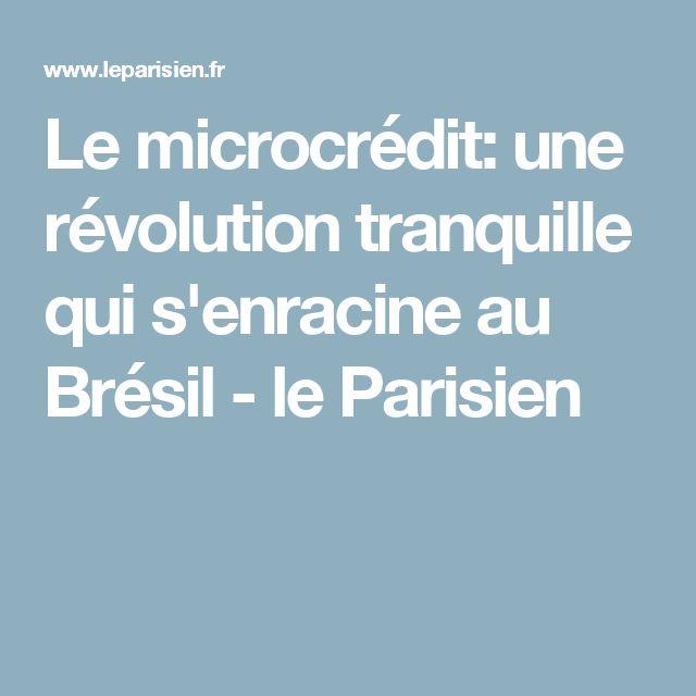 Le microcrédit: une révolution tranquille qui s'enracine au Brésil - le Parisien