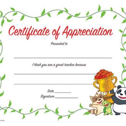 25+ unique Certificate of appreciation ideas on Pinterest - certificate of appreciation words