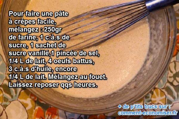 25 best pate a crepe facile ideas on pinterest recette pate a crepe pate - Pate a crepes tupperware ...