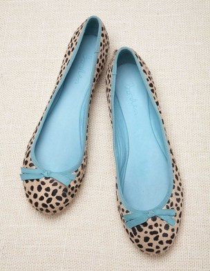 Boden pony hair ballet flats: because I can't resist a pair of shoes with a sense of humor