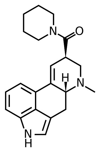 LSD-Pip formula C21H25N3O