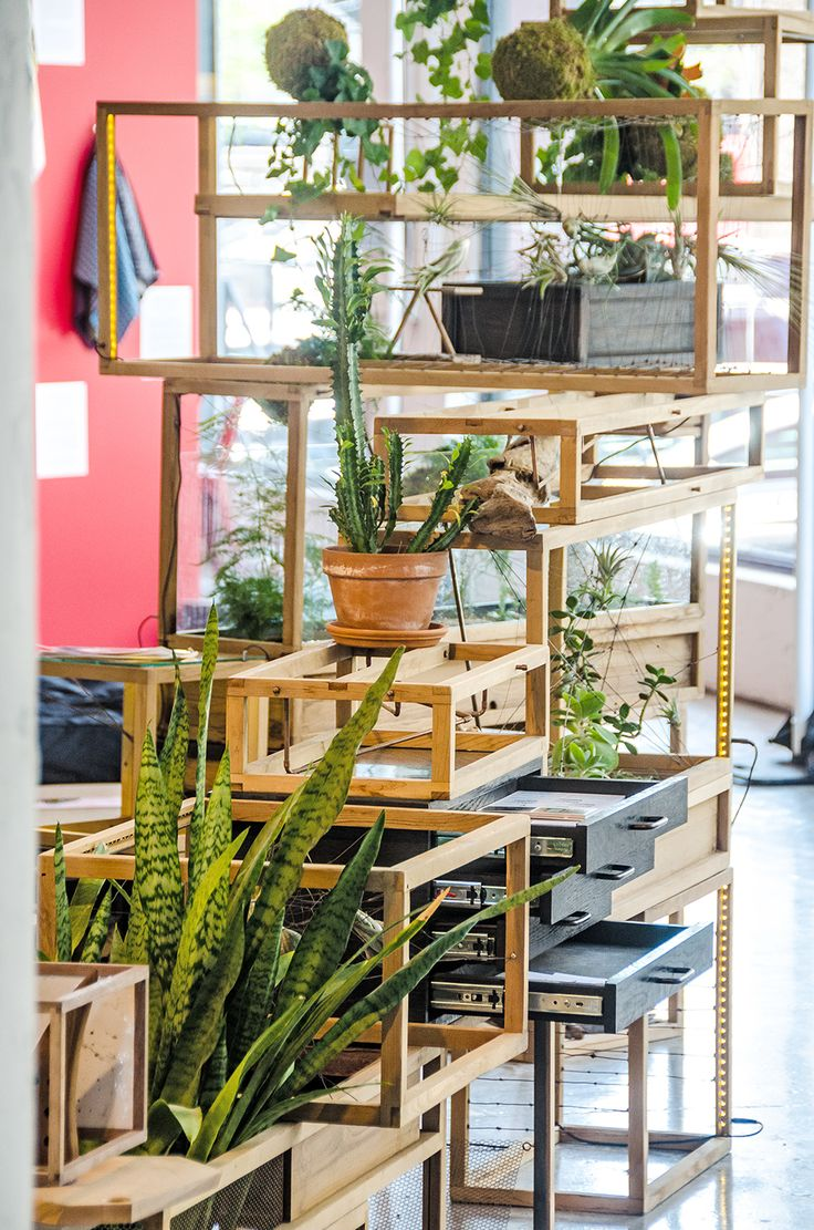 Plant-in City Installation at WantedDesign for NYCxDesign 2015. Photo by  David Pinter of