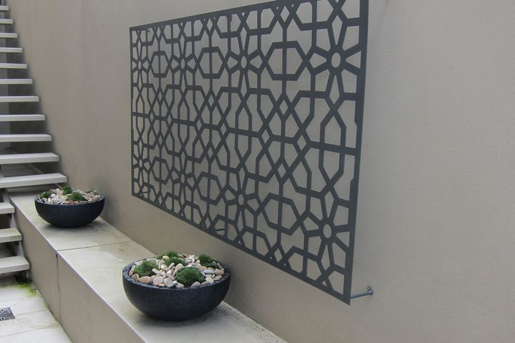 Artistic Outdoor Wall Art is designed using the Amazing Design with Fantastic Abstract Astonishing Outdoor