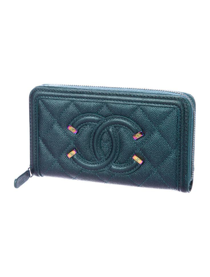 Caviar small filigree zip wallet wallet zip wallet