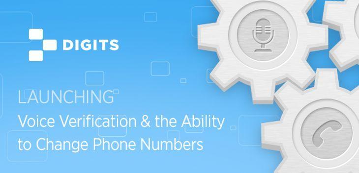 Sabías que Digits experimenta con las funciones de cambio de número telefónico y verificación vía voz