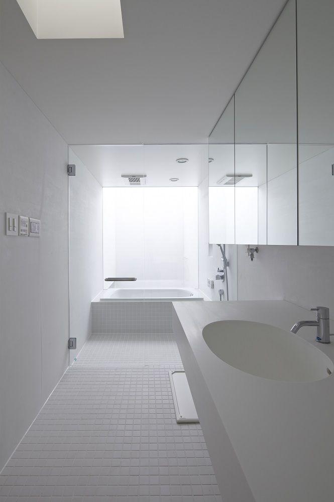 浴室 バスルーム 造作 ガラス張り 施工例 株式会社マブチ工業 浜松の