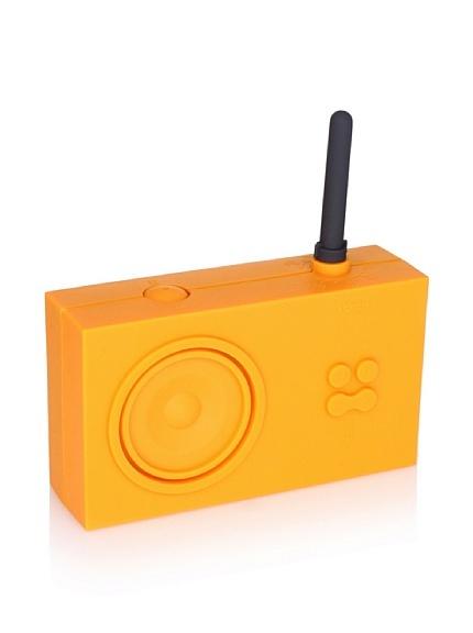Lexon Tykho Rubber Radio - Bad-Radio Tykho von Lexon, orange http://www.badmoebeldirekt.de/lexon-tykho-la42o1.html
