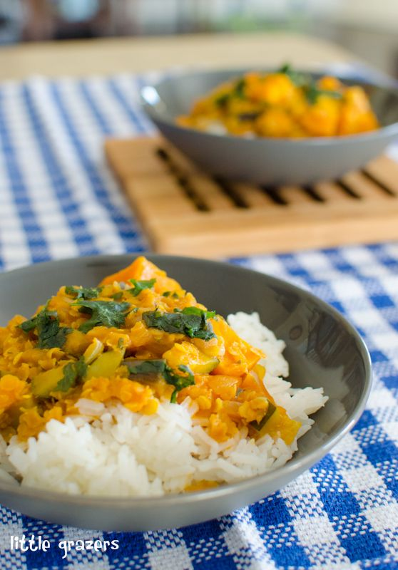 This curry is really quick to make and is great for freezing. It is not too spicy and my kids loved it. You could also vary this by adding in different vegetables, as it is a great way of sneaking ...