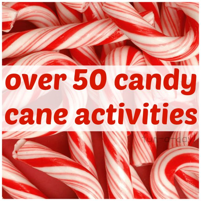 Pepperminty Goodness -- over 50 amazing candy cane activities for kids and families!  There are ornaments, arts and crafts, decorations, science and sensory ideas, and (of course) delicious treats!