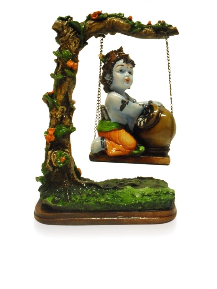 Bal Krishna On Swing