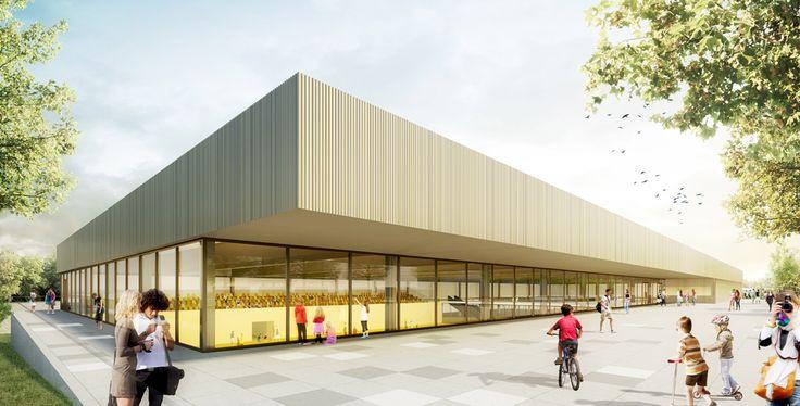 3. Preis: Sporthalle, © sander.hofrichter architekten