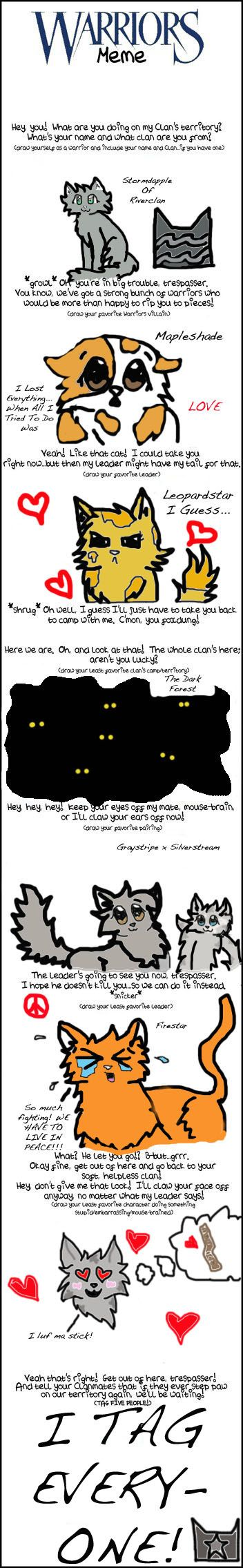 Hate what she said about fire star hahaha lol jayfeather