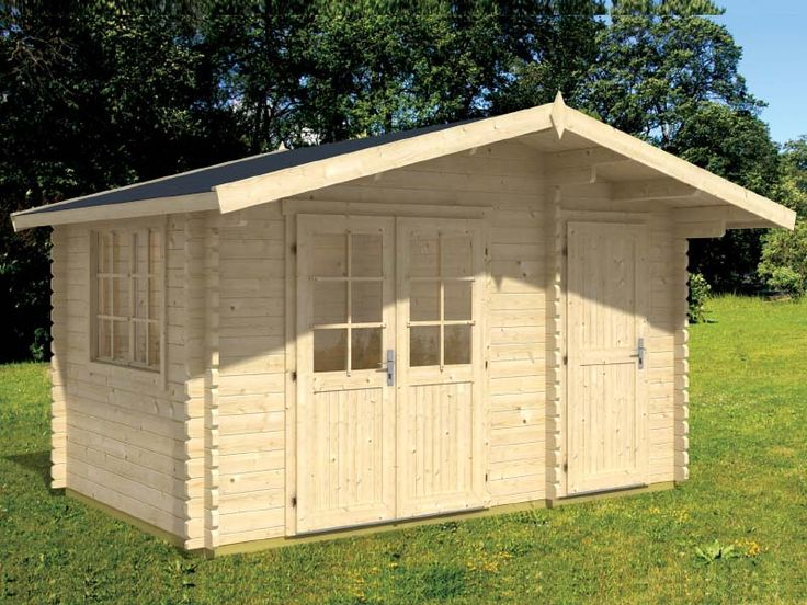 bzb cabins and outdoors walnut 5 cabin and shed kit perfect for your garden tools