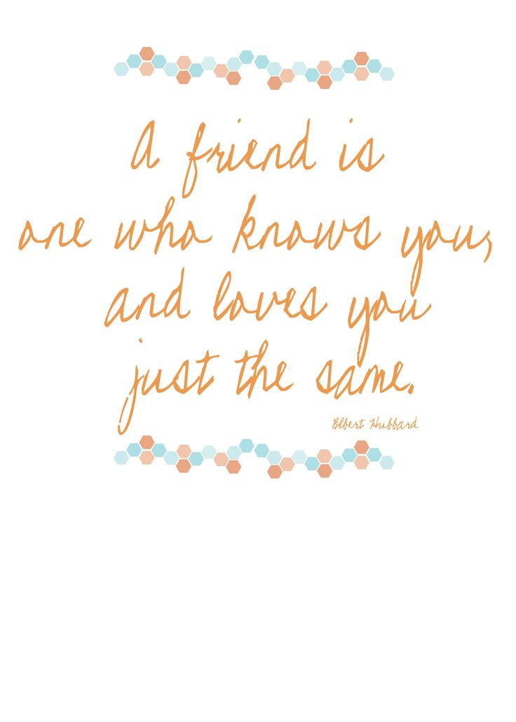 Bridesmaid / friendship quote www.officialbridesmaid.co.uk