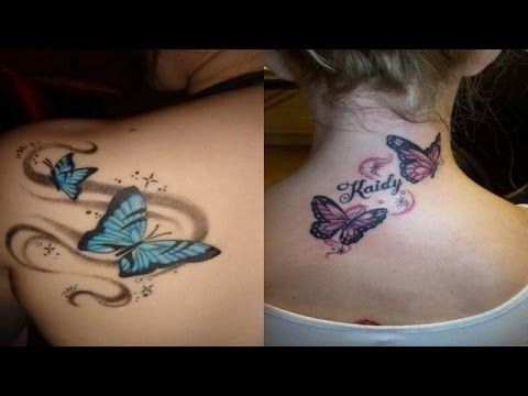 3D Butterfly Tattoos for Women | Female Tattoo Designs Ideas | Sexy Tattoo For Girls