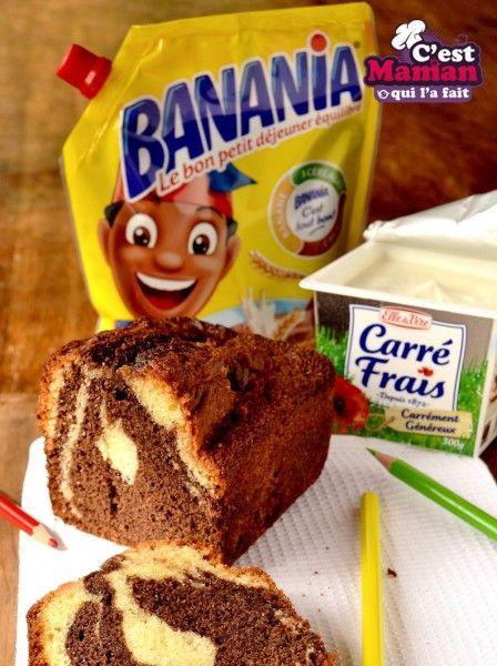 Marbré Carré Frais et Banania,  c'est tout nouveau pour la rentrée !