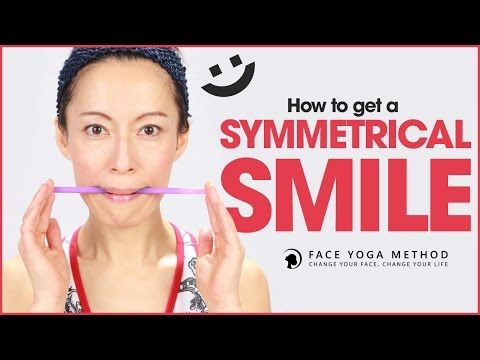 How To Get A Symmetrical Smile With Facial Exercises http://faceyogamethod.com/ - Face Yoga Method - YouTube