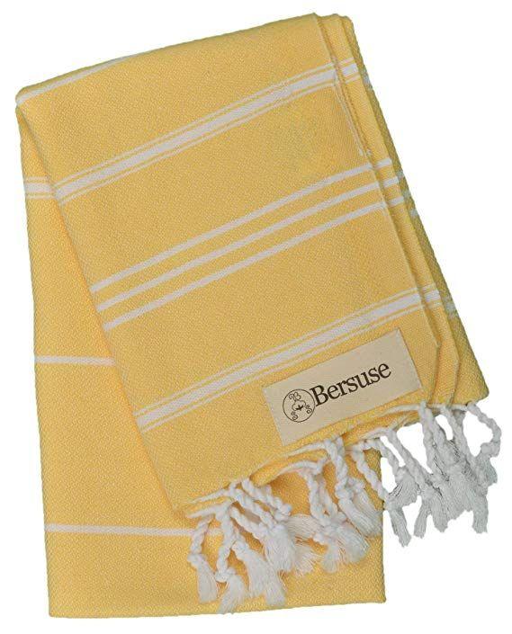 Bersuse 100 Cotton Anatolia Hand Turkish Towel Pestemal Baby