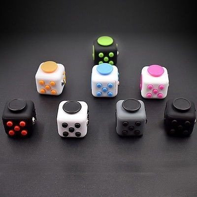 Fid Cube A Vinyl Desk Toy With Six Faces of Fid ing Fun To