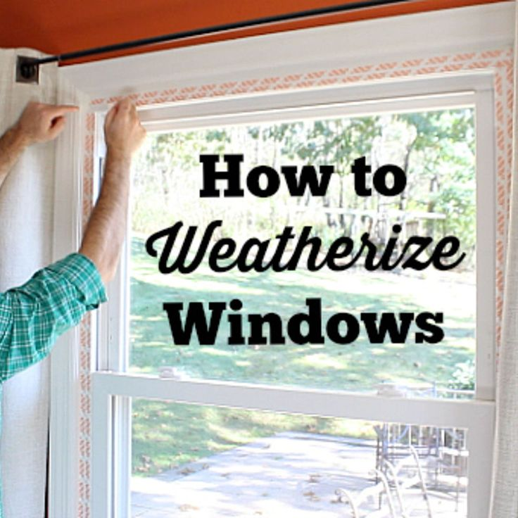Ingenious Window Insulation Tip!!!