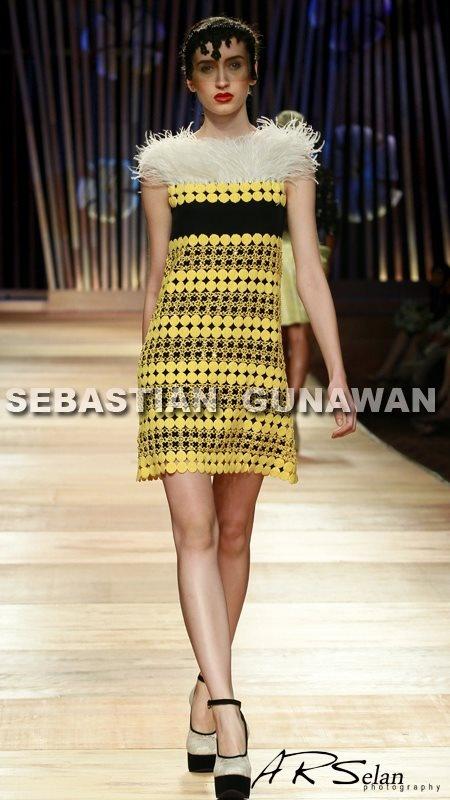 Sylwia for Sebastian Gunawan  Jakarta Fashion Week 2013 #photography #fashion #model