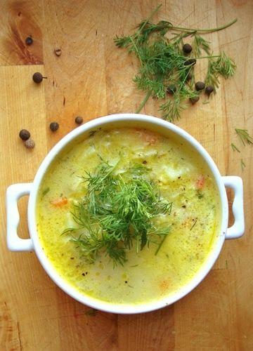 Jarzynowa: Vegetables Soups, Smaczna Kuchnia, Cooklet Soups, Moja Smaczna, Soups Ideas, Dodatkiem Koperku, Soups Recipes, Jarzynowa Zupa, Młodą Kapustą