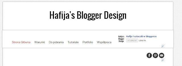 Jak dodać gadżet nad nagłówkiem blogger blogspot