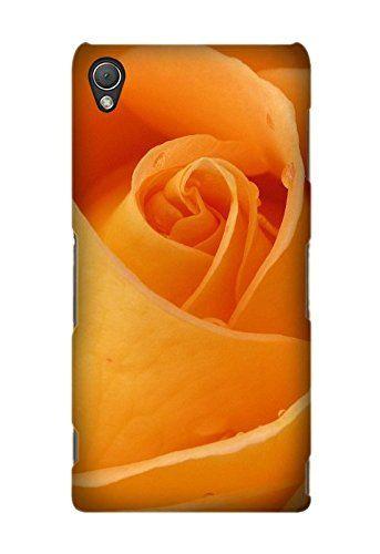 Buy Custom Flower Orange Phone Case Laser Technology for Sony Xperia Z3 NEW for 15.99 USD | Reusell