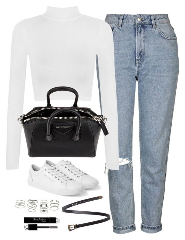 """Untitled#4430"" by fashionnfacts ❤ liked on Polyvore featuring Topshop, WearAll, Dolce&Gabbana, Givenchy, Yves Saint Laurent, Christian Dior and Miss Selfridge"