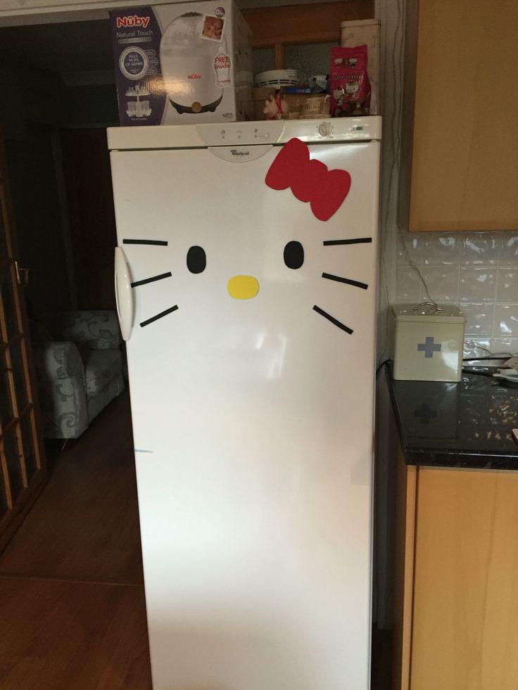 Kitty fridge!