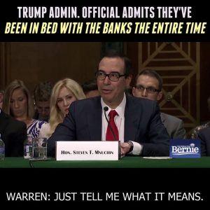 The swamp is being filled by Goldman Sachs.  via The People For Bernie Sanders #news #alternativenews