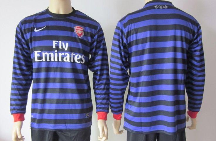 Arsenal Manga Larga 2012/2013 Segunda Equipación [187] - €19.42 : Camisetas de futbol baratas online!