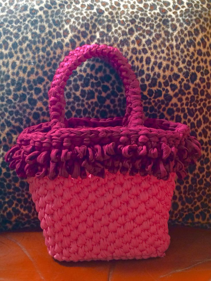 "Borsa fettuccia ""Pink Addiction""!!"