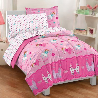 Dream Factory Magical Princess 4 Piece Toddler Bedding Set Gorgeous Toddler Bedroom Set Design Inspiration