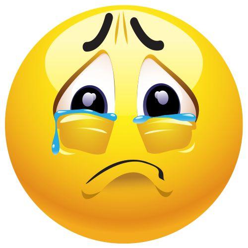 Resultado de imagen de emoticon llorando