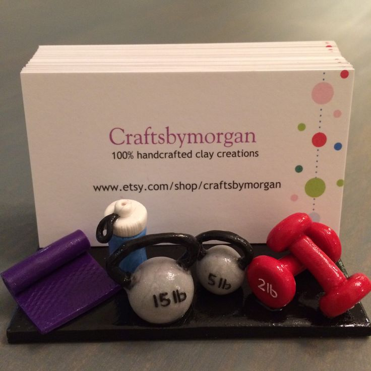 Yoga, Gym, Exercise, Dance, Workout business card holder by craftsbymorgan on Etsy https://www.etsy.com/listing/262929296/yoga-gym-exercise-dance-workout-business