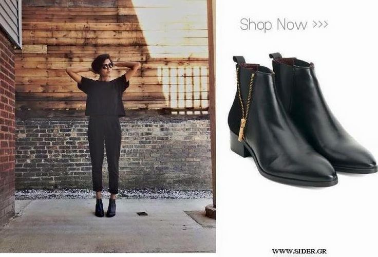 The lovely @gant1949 black boots //Our Lisa Mid-Boots #sidervaluablesteps #fashion #style #women #leather #shoes #siderstores www.sider.gr