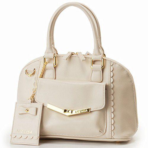 Amazon.co.jp: リズリサ(バッグ&ウォレット)(LIZ LISA Bag&Wallet) アンティーク合皮2WAY手提げ/リズリサ【オフホワイト/**】: シューズ&バッグ:通販