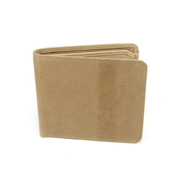 Pánská hnědá peněženka - peněženky AHAL