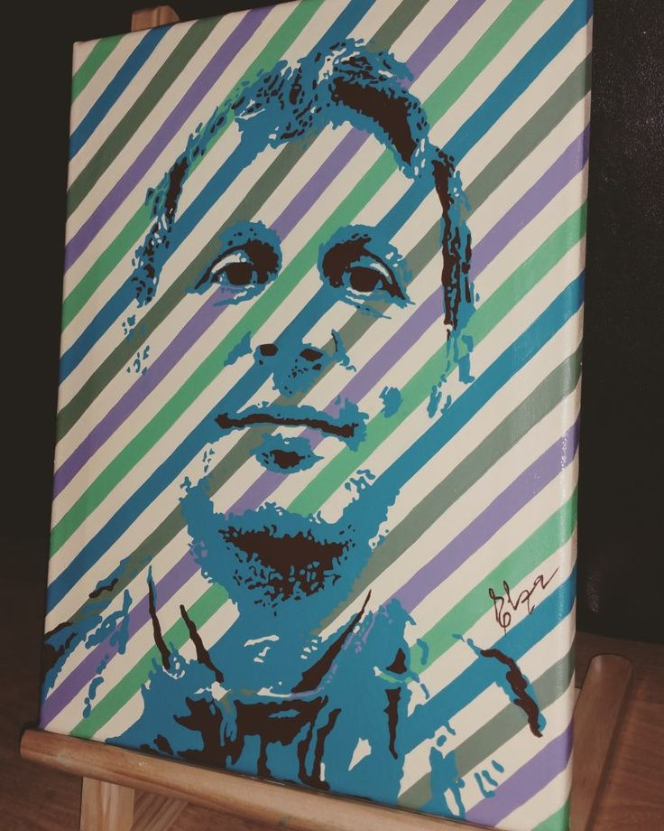 #popart portrait, acryl on canvas #newpopart #urbanart