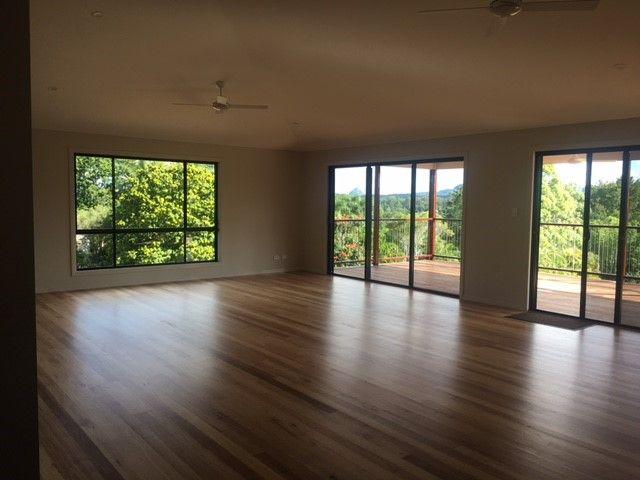 Valleyview 4 single storey design in Glenview with open plan living & real oak timber floors | Tru-Built Builders Queensland.