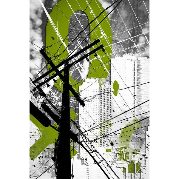 Urban Grunge Green Industrial Abstract Wall Art Fine Art Print Modern... ($20) ❤ liked on Polyvore featuring home, home decor, wall art, mixed media wall art, green wall art, green home decor, green home accessories and wall street art