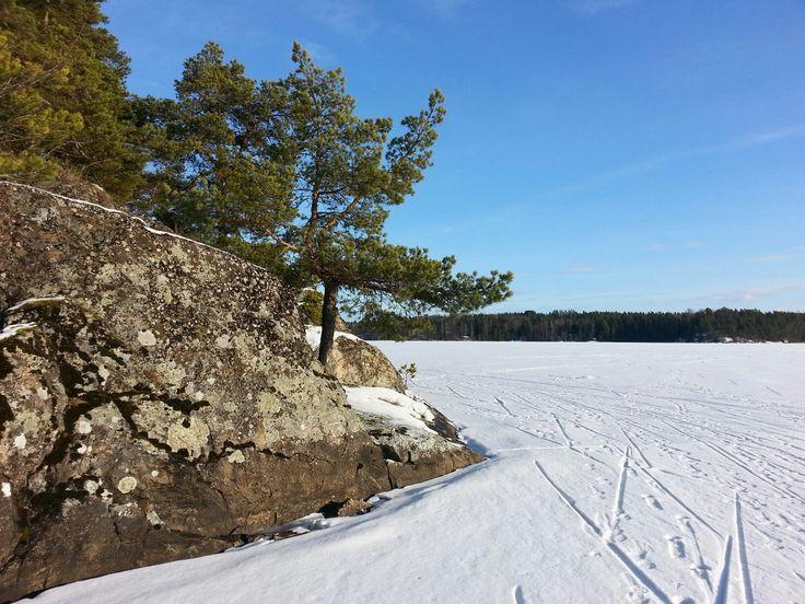 Heponiemi 12.2.2017 #Puujärvi #Karjalohja #Lohja  kuva:Jaana Perheentupa