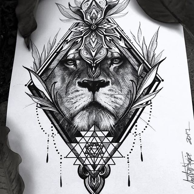 Tattoo Mandala Lion Products 37 Best Ideas