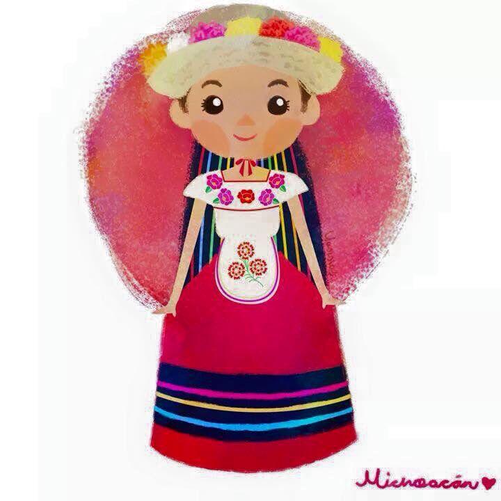 Ms de 25 ideas increbles sobre Muecas mexicanas en Pinterest