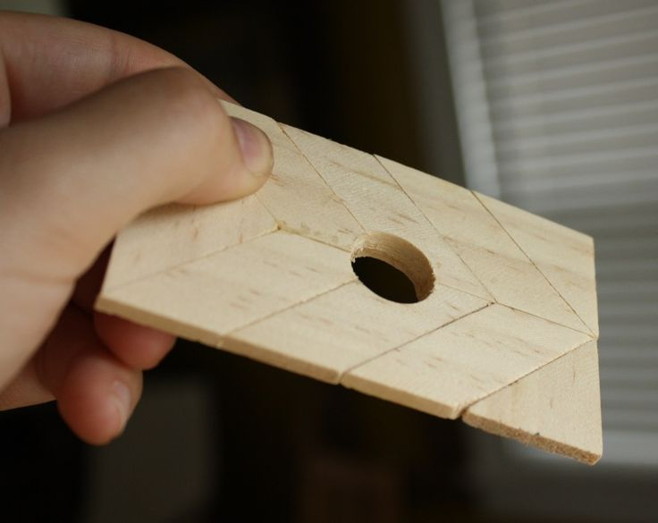 The FLW doorbell cover. See how shallow the hole is?