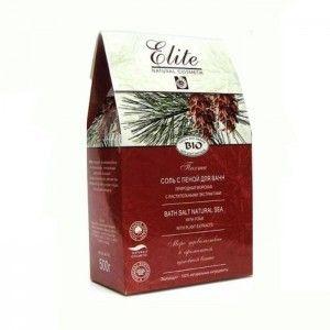 Sól PICHTA do kąpieli Elite z pianą i aktywnymi składnikami naturalnych ekstraktów roślinnych