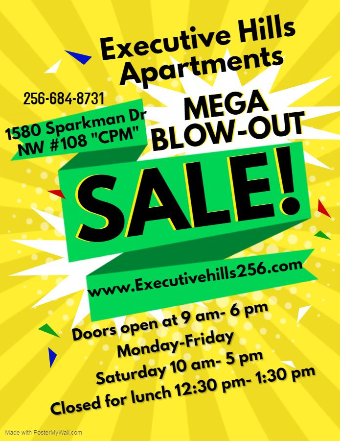Awesome Move In Specials At Executive Hills Apartments Until June 1st Come On In Today To 1580 Sparkman Two Bedroom Floor Plan Mid City Beautiful Apartments